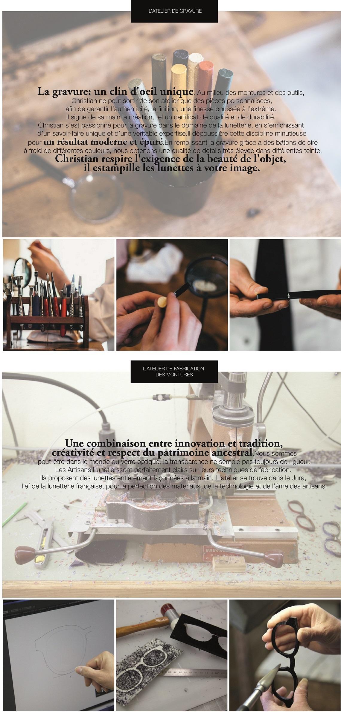 atelier créateur artisan lunetier sur-mesure